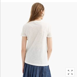 J. Crew Tops - New J crew vintage cotton crewneck T-shirt